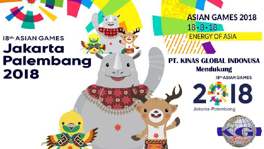Kinas Global Indonusa support the 2018 Asian Games